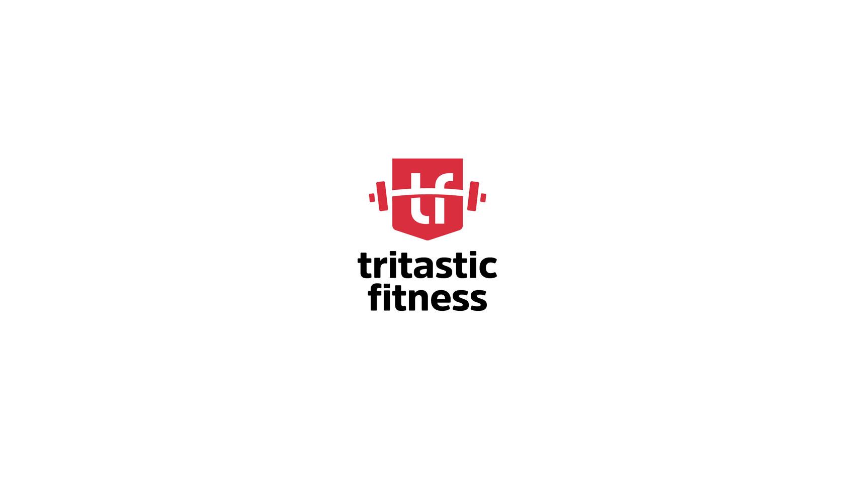 tritastic fitness logo design