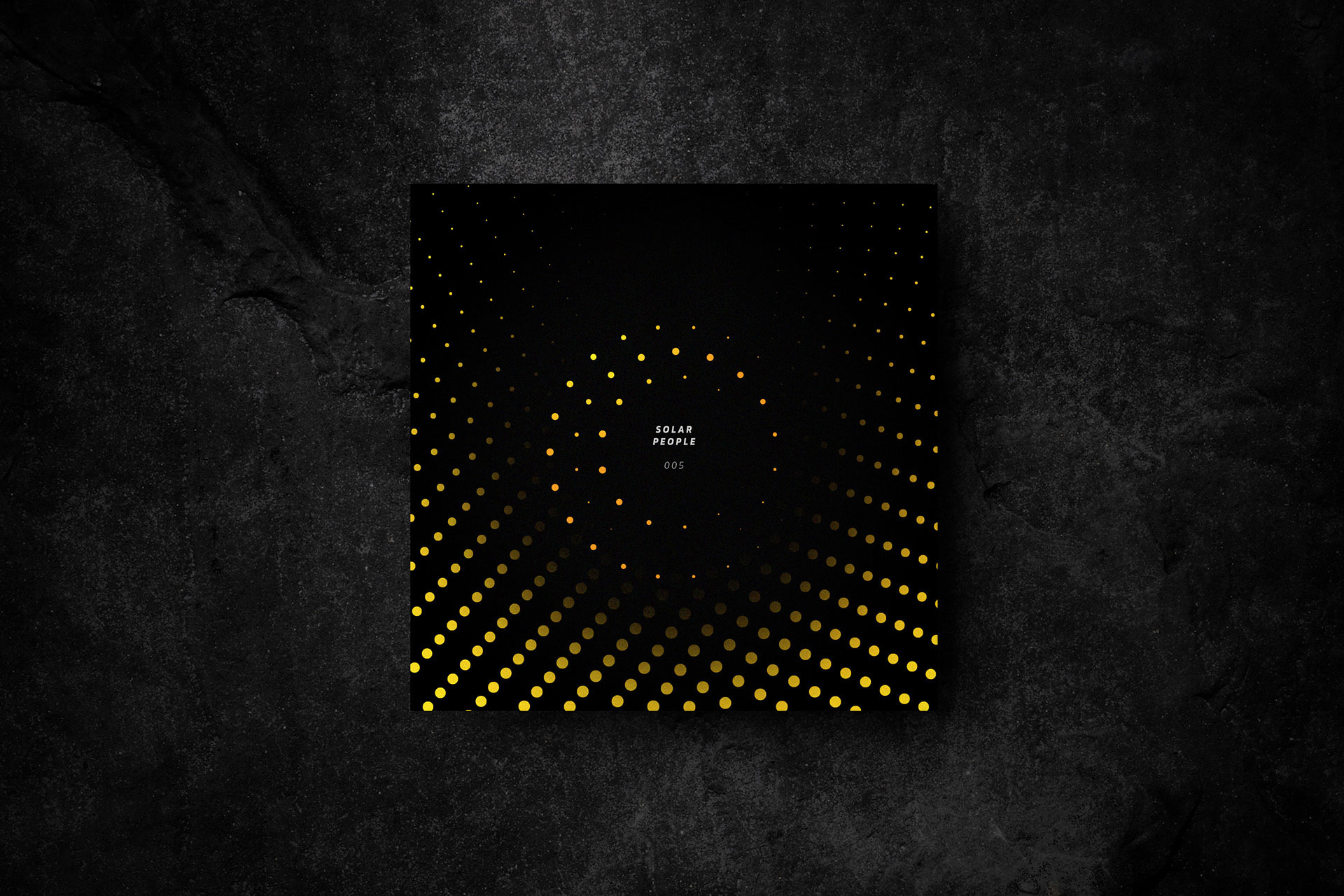 Solar People Vinyl cover design