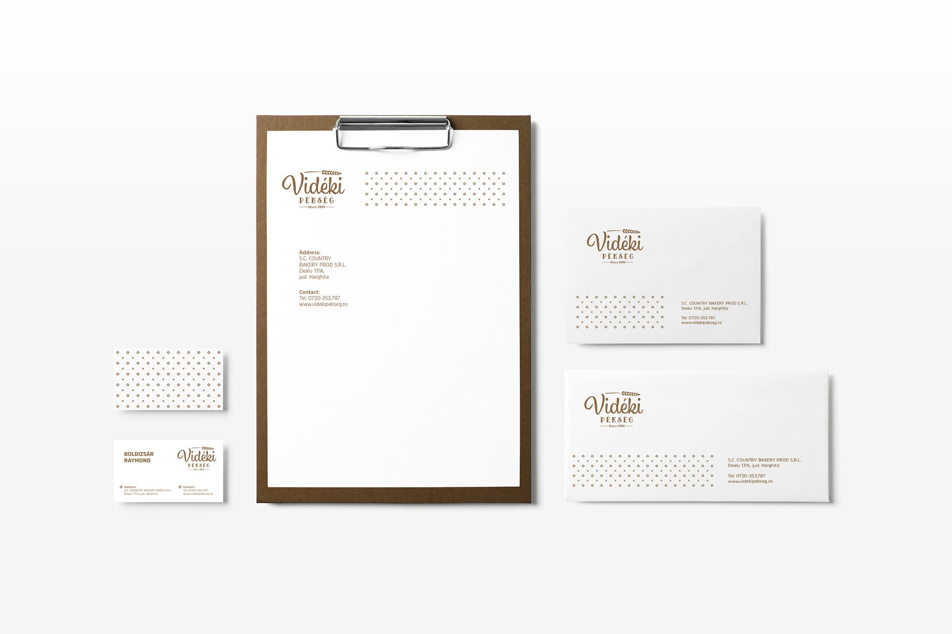 Stationary design for bakery