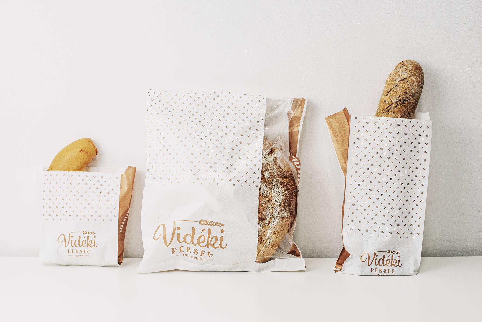 Packaging design for Bakery