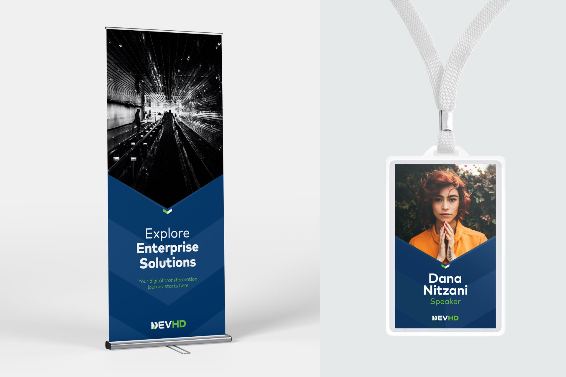 DEVHD Billboard and Name Card Design