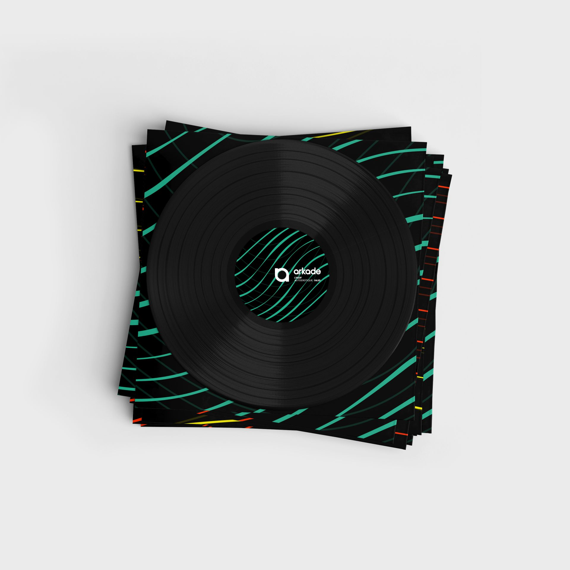 Arkade - The Vinyl Collection - Vinyl packaging design